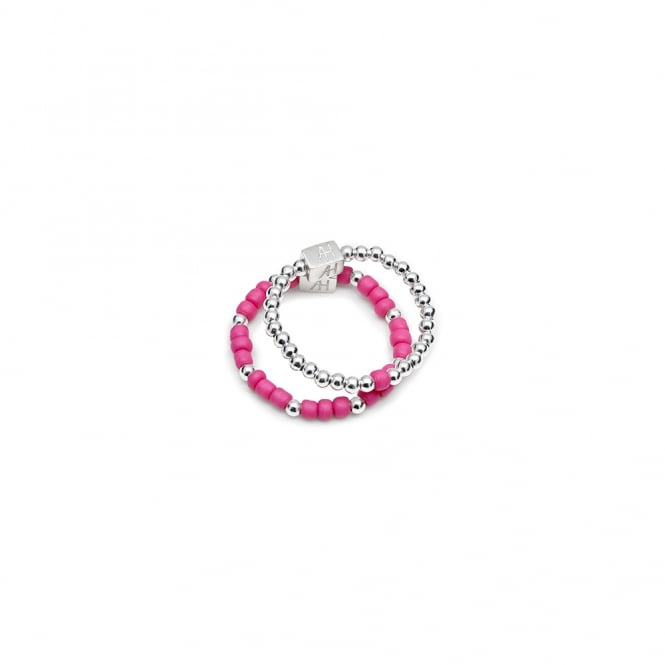 Annie Haak Hot Pink Duo Ring