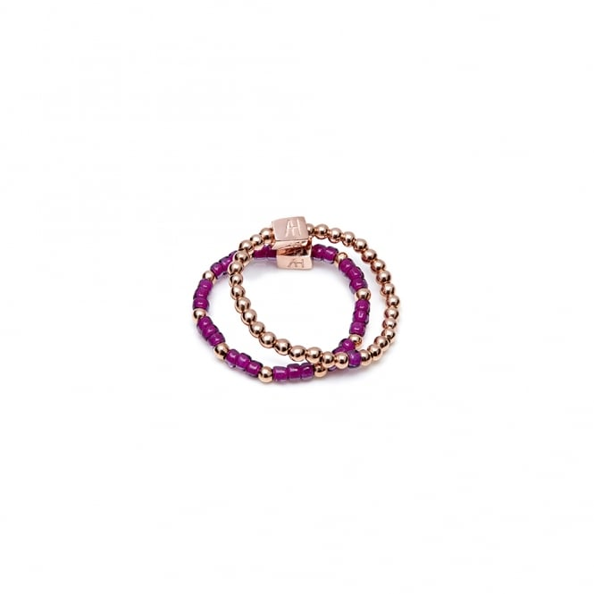 Annie Haak Serasi Dua Ring-Purple