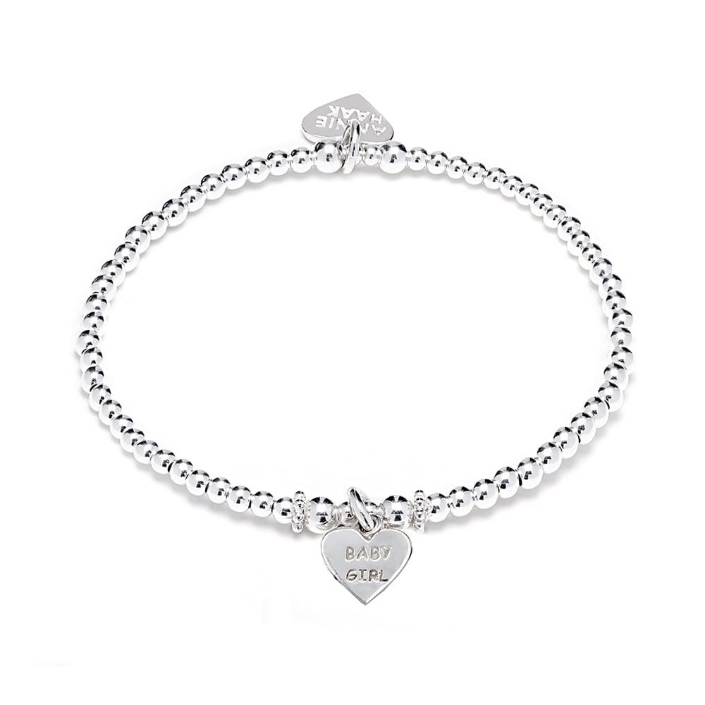 Annie Haak Silver Baby Girl Bracelet - Jewellery from Danish ...