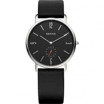Classic - Black Leather Strap