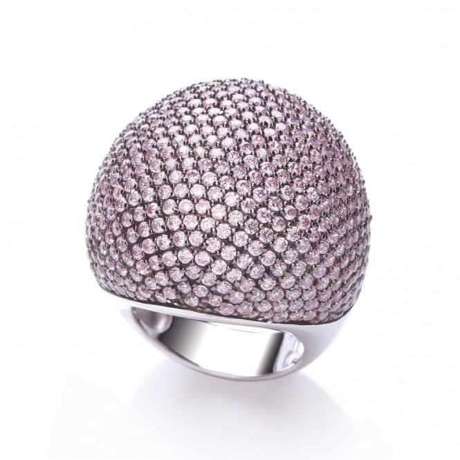 J-JAZ Pave Cocktail Ring