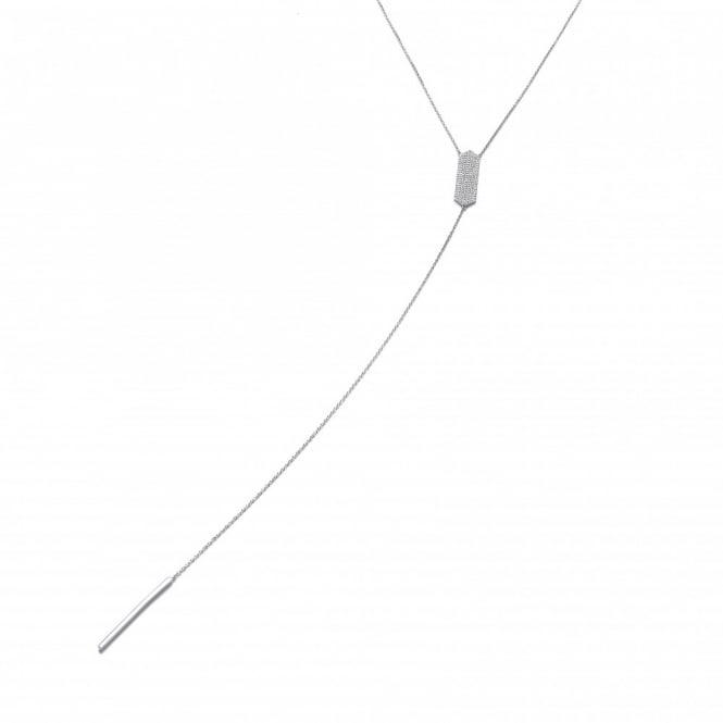 J-JAZ Vertical Bar Necklace