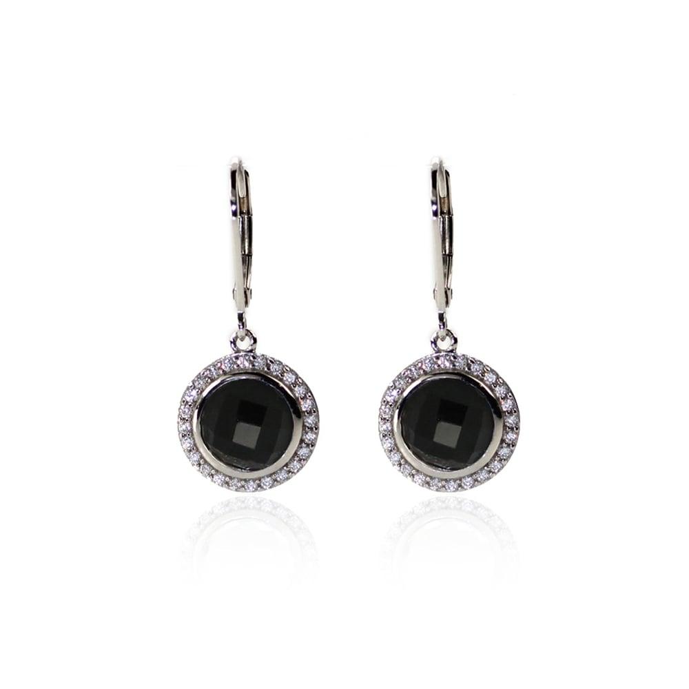 6870da1f7 Juleo Black Onyx Drop Earrings - Jewellery from Danish Concept ...
