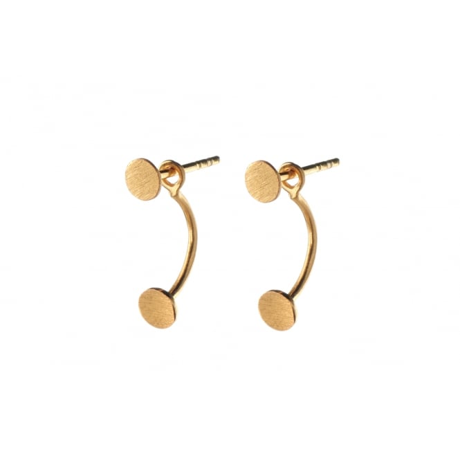 Pernille Corydon Double Coin Stud Earrings