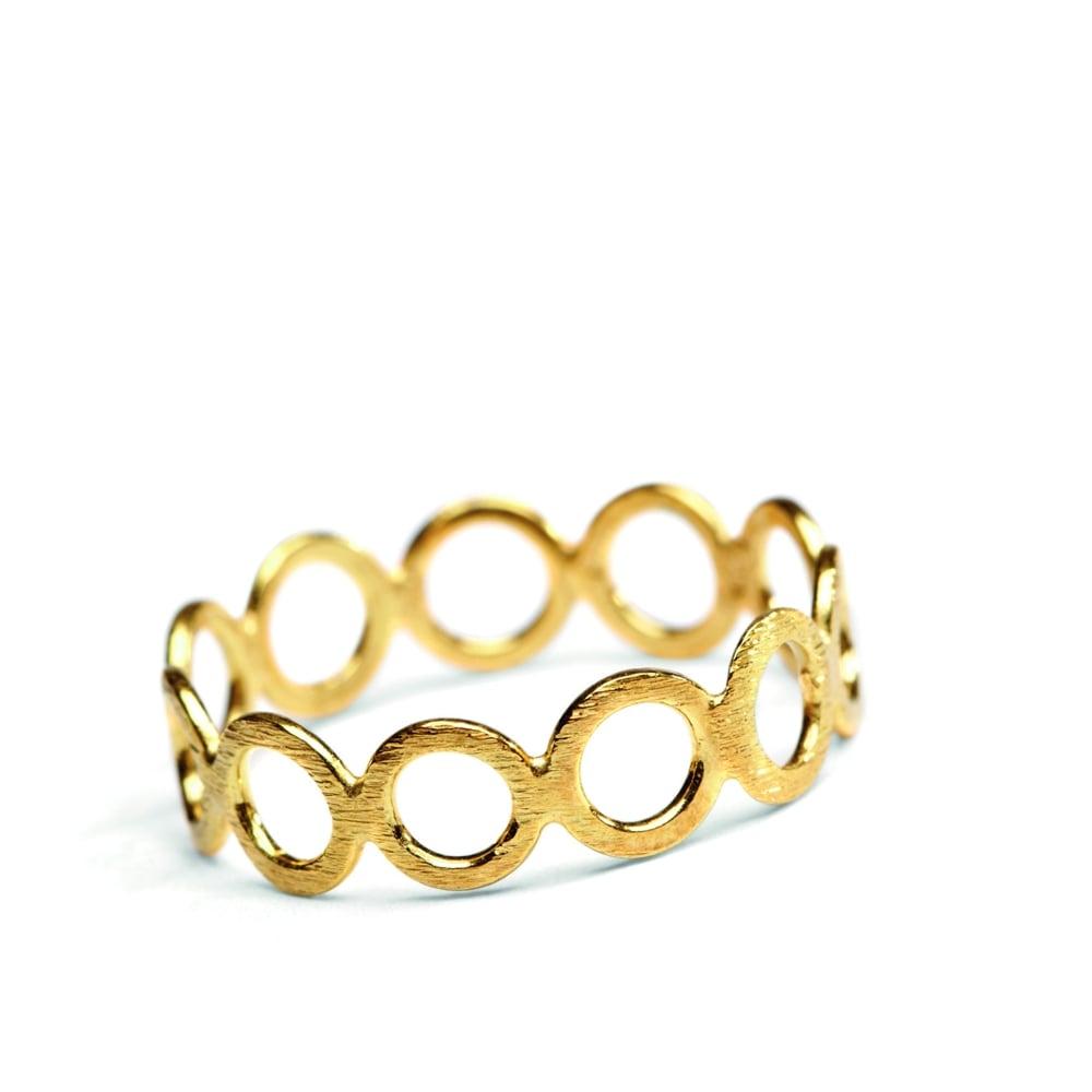 Pernille Corydon Open Circles Ring Jewellery From Danish