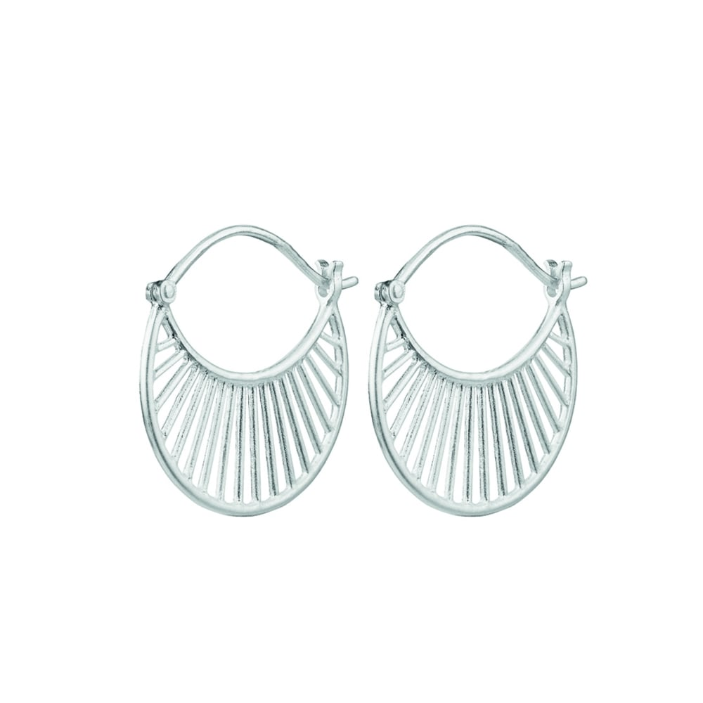 9dc2a1c4c Pernille Corydon Silver Daylight Earrings - Jewellery from Danish ...