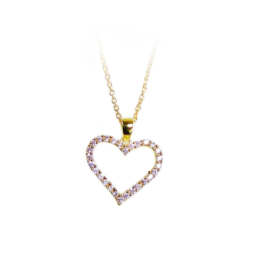 San design sparkling heart pendant jewellery from danish concept sparkling heart pendant aloadofball Images