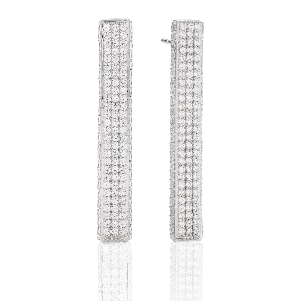 cda287e5f SIF Jakobs BACOLI CZ Earrings - Jewellery from Danish Concept Stores ...