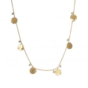 Six Coin Necklace