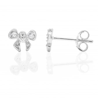 Mini Bow Stud