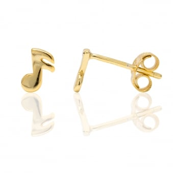 Musical Note Studs
