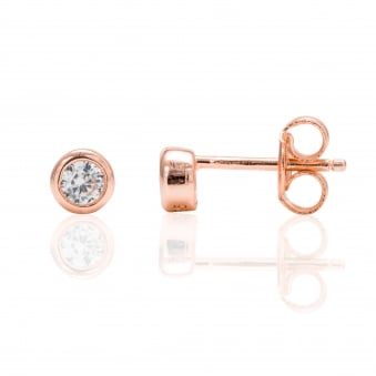 RG Plated 3mm Round Stud